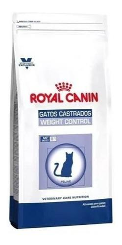 Royal canin weight control 12k gatos castrados el molino