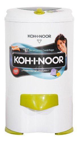 Secarropas koh-i-noor 5.5 kg c-755/2 vision c/recipiente bco