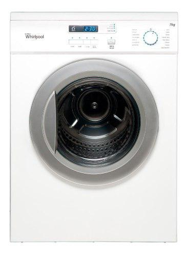 Secarropas whirlpool carga frontal 7 kg blanco nuevo wsr07sb