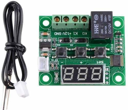 Termostato w1209 con fuente de alimentación electronicmind