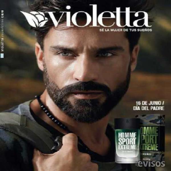 Violetta cosmeticos busca revendedoras en lanús