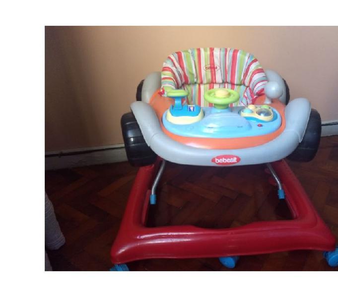 Andador musical p bebe bebesit rally bandeja con juegos
