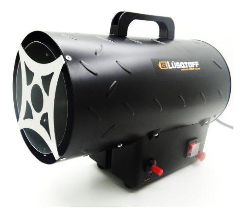 Calefactor industrial turbo cañon 13000 kcal lusqtoff a gas