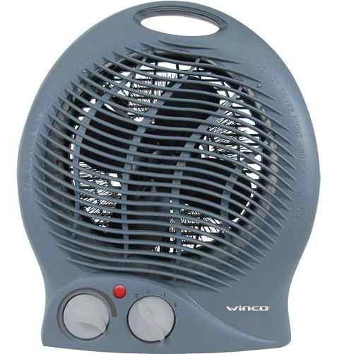 Caloventor electrico winco termostato bajo consumo apto