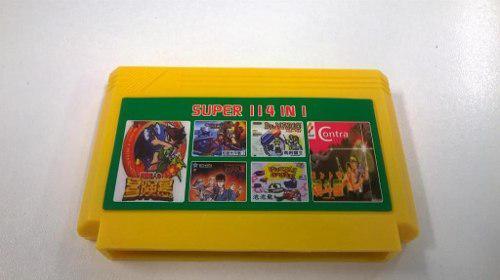 Cartucho de 114 juegos family game retro 8 bits sin repetir