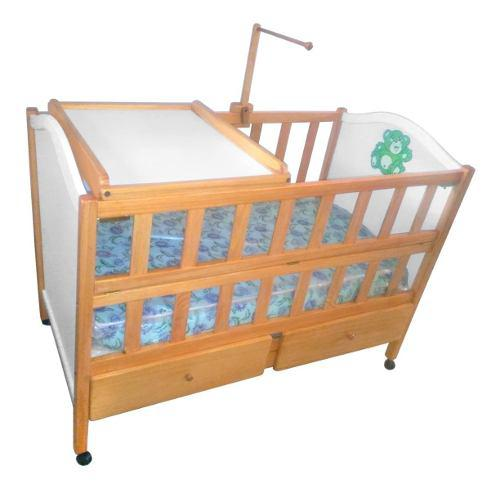 Cuna madera artesanal directo fabrica mejor precio 1,20x0,60