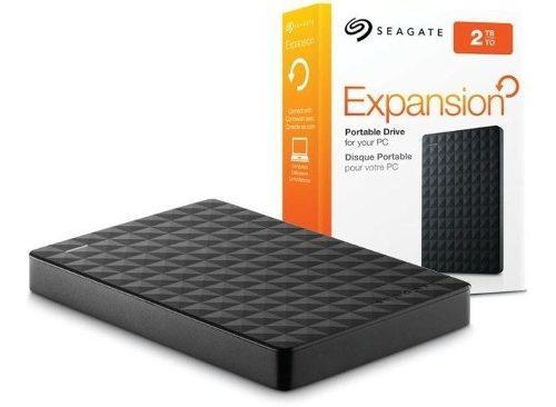 Disco rigido externo 2tb seagate expansion usb 3.0