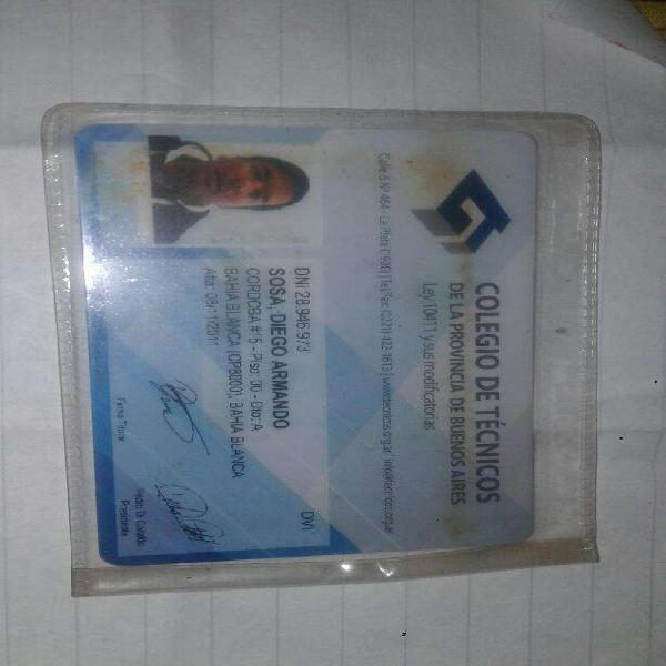 Electricista matriculado mat: 40223 ctpba