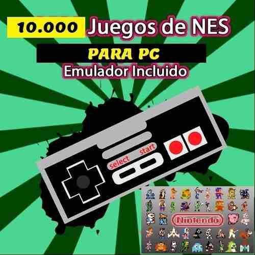 Emulador pc nintendo nes family game 10.000 juegos completo
