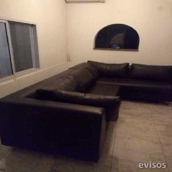 Espectacular sillón esquinero! en villa urquiza