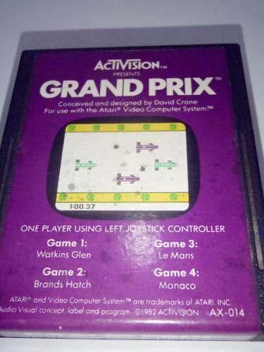 Grand prix juego para atari 2600 rarity 2 funcionando