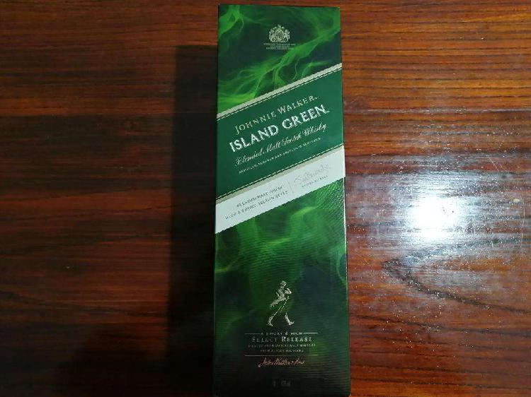 Johnnie walker island green 1 litro