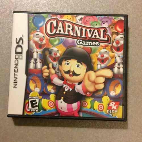 Juegos nintendo ds carnival games fisico envio gratis