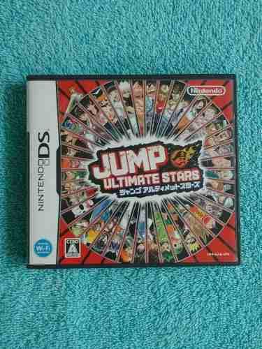 Juegos nintendo ds jump ultimate stars japonés ** rareza **