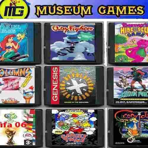 Juegos sega genesis 16 bits cartuchos -local-cap-fed