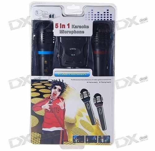 Microfonos para consolas videojuegos y equipos de musica