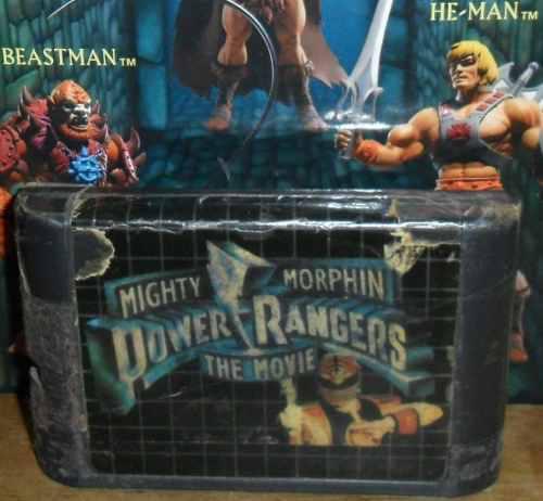 Mighty morphin power rangers video juego tipo sega genesis