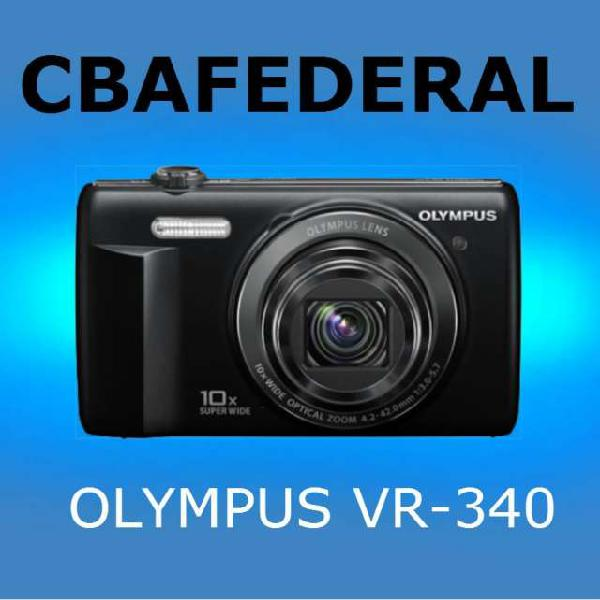 Olympus vr-340 16mpx 10x zoom opt 3 lcd video hd 720p en