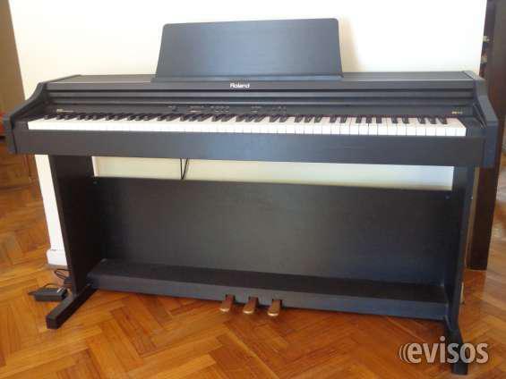 Piano digital roland rp 201 con mueble 88 teclas en palermo