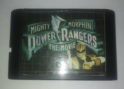 Power rangers the movie - juego de sega