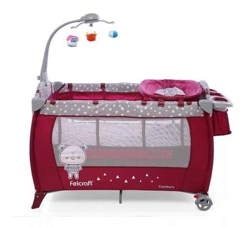 Practicuna cuna plegable bebe nueva confort envío gratis !!