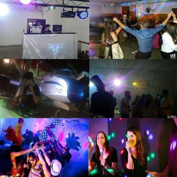 Servicio dj, sonido, iluminacion, karaoke, pantalla