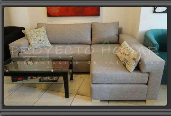 Sillon sofa esquinero agustina en recoleta