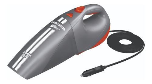 Aspiradora para auto 12v black+decker av1500 + 5 accesorios