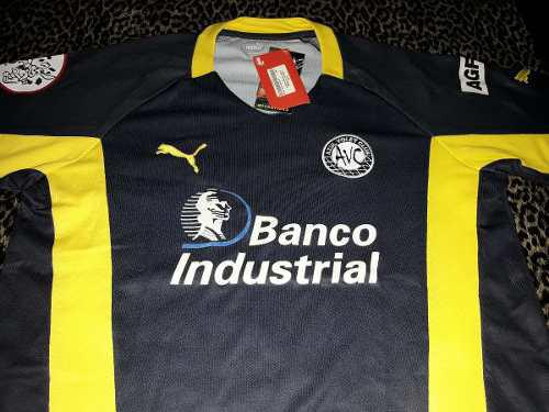 Camiseta azul voley club puma original banco industrial