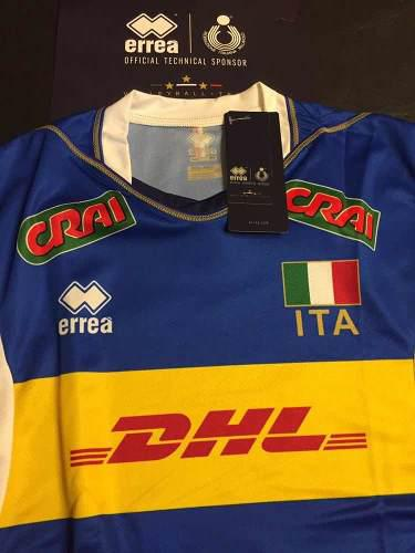 Camiseta selección italiana de voley oficial masculina