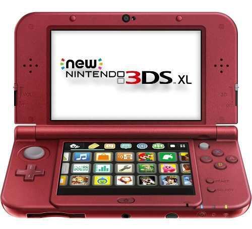 Consola nintendo 3ds xl bordo + pokemon luna