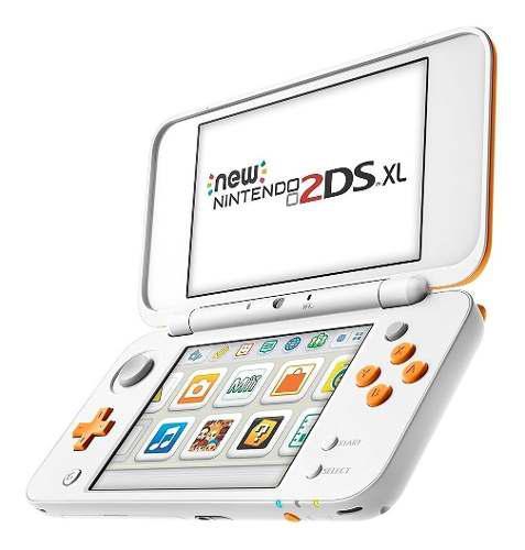 Consola portatil nintendo 2ds xl blanco naranja fact a-b
