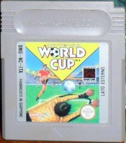 Juego cartucho original nintendo game boy futbol world cup