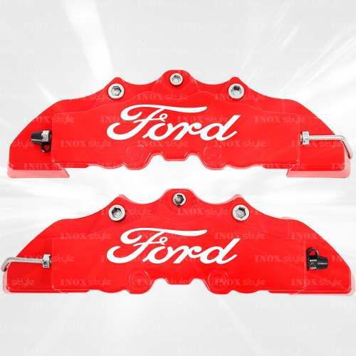 Kit 2 cubre calipers para ford ka fiesta focus mondeo ranger
