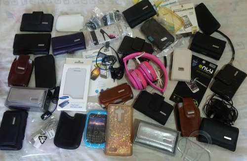 Lote de accesorios para celulares