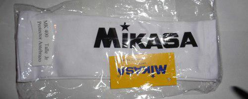 Mangas gemeleras voley mikasa senior color blanco banfield