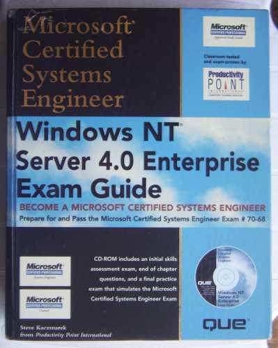 Mcse windows nt server 4.0 enterprise exam guide / ed 1999