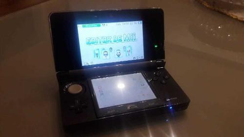 Nintendo 3ds como nueva, 3 juegos + accesorios