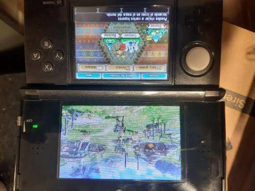 Nintendo 3ds con flash+memoria 64gb+r4 gold+ funda