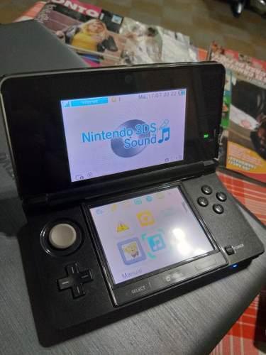 Nintendo 3ds con juegos, nueva todos los accesorios