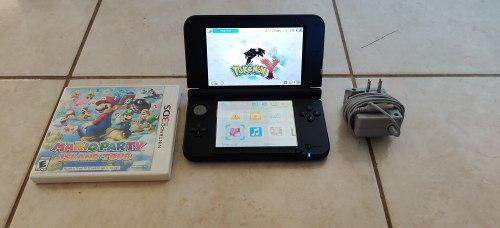 Nintendo 3ds xl + 2 juegos originales + cargador original