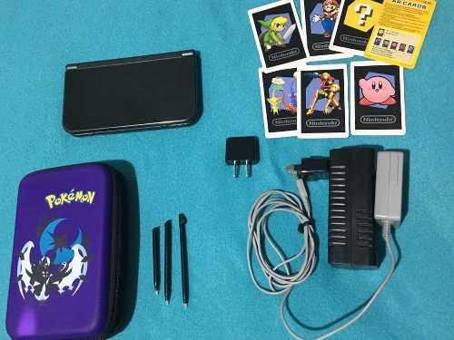 Nintendo 3ds xl + cargador + estuche! poco uso, casi nueva!