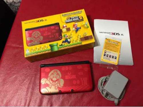 Nintendo 3ds xl edicion super mario bros 2