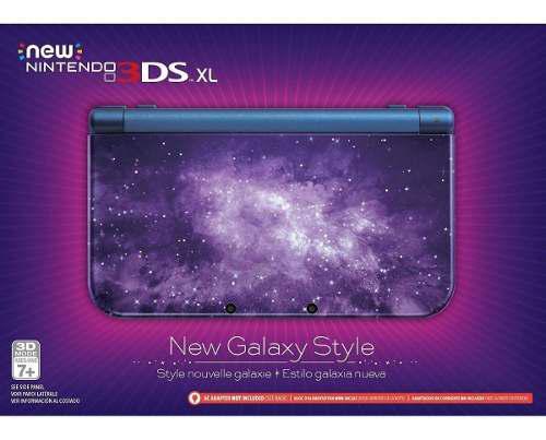 Nintendo 3ds xl galaxy edition nueva sellada- fantasy trader