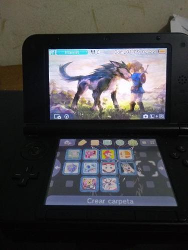 Nintendo 3ds xl + juegos