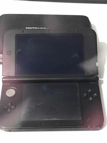 Nintendo 3ds xl usada + estuche + 3 juegos