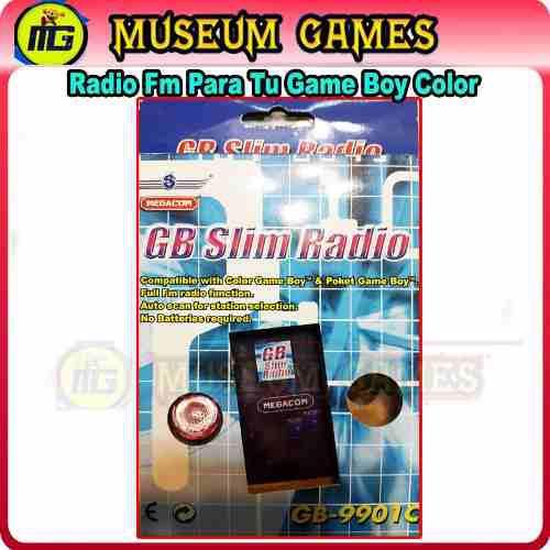 Radio Fm Para Tu Game Boy Color & Pocket +auricular -local-c