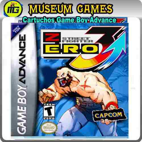 Street Fighter Zero 3 Gba -museum Games-