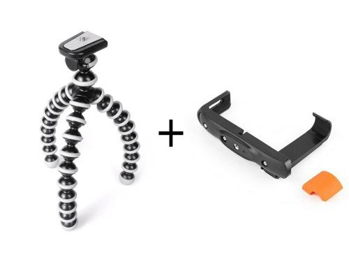 Tripode gorila universal p/ camara c/ accesorio p/ celulares