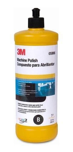 3m abrillantador a maquina 5996 - machine polish - foxer